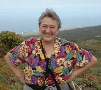 Lynn Margulis in Ecuador