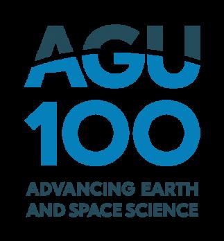 AGU 100th anniversary logo