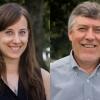 Portraits of Shaina Sadai and Mark Leckie